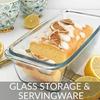 Glass Storage & Servingware